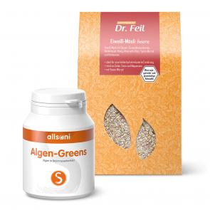 Algen-Greens + Müsli