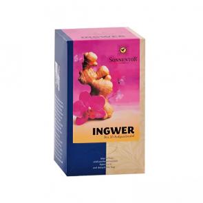 Bio-Ingwer-Zitronen-Tee