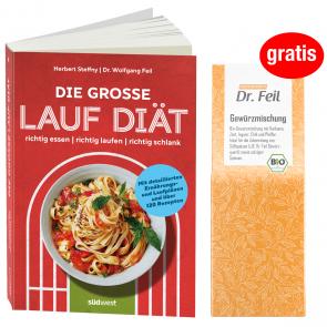 Die große Lauf-Diät + GRATIS Dr. Feil Gewürzmischung